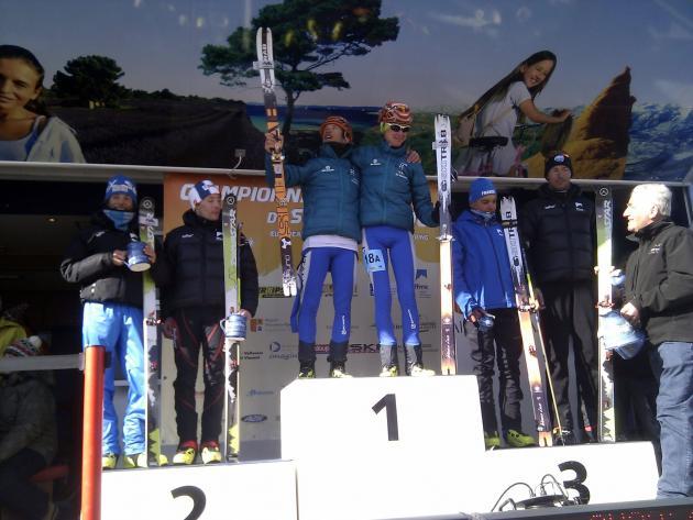 Campionati europei pelvoux gara team for Sideboard yannick