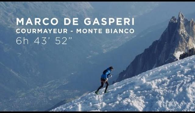 Embedded thumbnail for RECORD DE GASPERI MONTE BIANCO